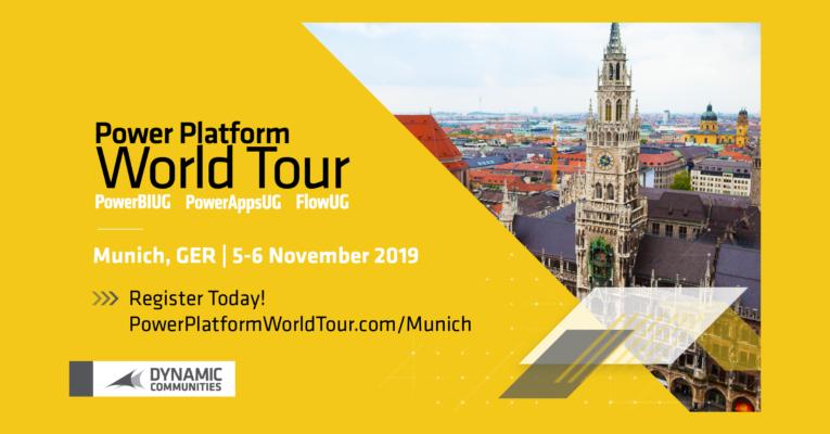 """datenkultur präsentiert die """"Power Platform World Tour"""" in München."""