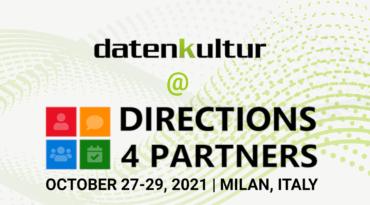 datenkultur auf der Directions EMEA 2021